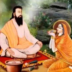 Sant Meera Bai with Satguru Ravidass Maharaj