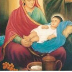 Mata Shrimati Kalsi Devi Ji with her son Satguru Ravidass Maharaj Ji