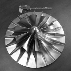[Turbo Machinery] 15-5PH Stainless Steel Impeller 5-Axis