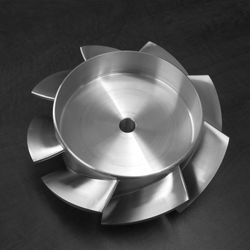 [Turbo Machinery] Axial Fan Swarf Milled