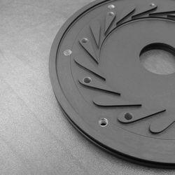 [Turbo Machinery] Nozzle Plate - Black Hard-Coat Anodize