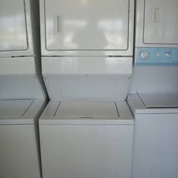 Whirlpool Stackable laundry center washer and dryer