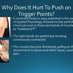 Why do Trigger Points Hurt when I push on them?