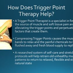 Why is Trigger Point Therapy so effective?