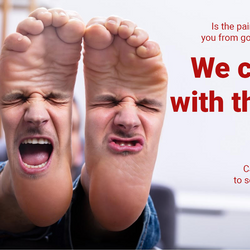 Foot Pain such as Plantar Fasciitis fixed in one treatment