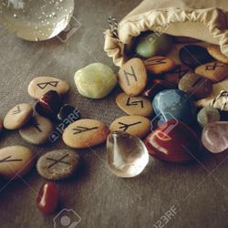 There's a message for me in those stones? Mystical Runes Readings available at Feb. 23 Cabin Fever Spirit Fest! See Calendar for details. . .