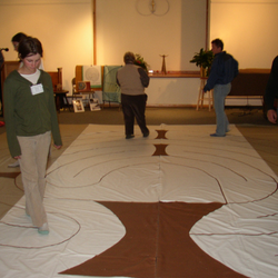 Carol Ohmart Behan leads us in a Labyrinth Walk in Healing Circle 3-10-18 See calendar for details. . .