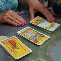 """""""Psychic Tarot"""" with Tina Breslau & Rev. Sue- March 14th & 21st- Click on calendar to register. . ."""
