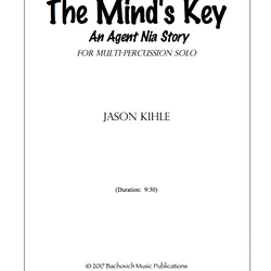 My second composition, The Mind's Key, is available from Bachovich Publications.