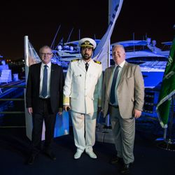 Capt. Talal Bin Mansi with Princess Chief Executives