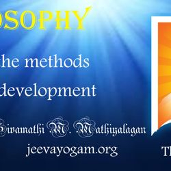 Man living proper by knowing life method, sees development.