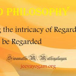 Regard by knowing Regard, the action, Regard's meaning, The God are there in Regard's action, You will be Regarded.