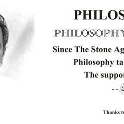 Philosophy becomes the reason for life's victory.