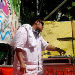 DJ for Pope Benedict XVI at World Youth Day Madrid, Spain