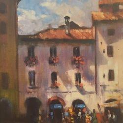 Luca, Italy  12x9