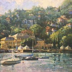 Pascallo, Lake Como  20x30
