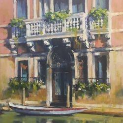Venetian balcony  20x16