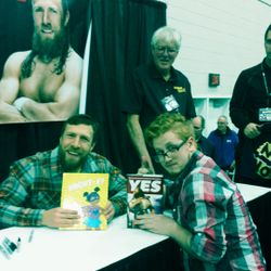 Jordan and WWE Superstar Daniel Bryan