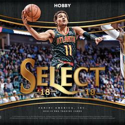 2018/19 Panini SELECT Hobby Box $284.95