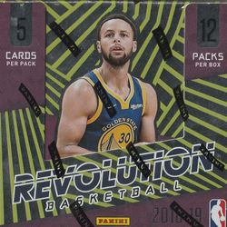 NEW! 2018/19 Panini Revolution CNY Box $64.95