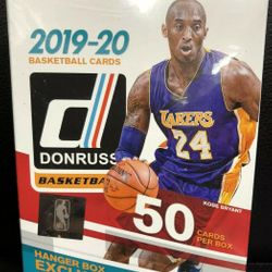 2019-20 Panini DONRUSS Hanger Pack Box $99.95