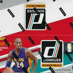 2019-20 Panini DONRUSS 24-Pack Retail Box $450.00