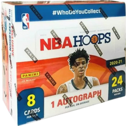 2020-21 Panini NBA Hoops 24-Pack Retail Box $250.00