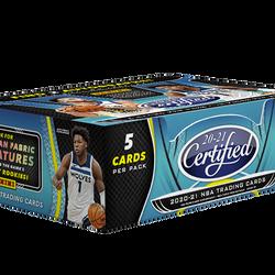 2020-21 Panini CERTIFIED Hobby Box $650.00