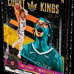 2020-21 Panini COURT KINGS Hobby Box $425.00