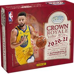 2020-21 Panini CROWN ROYALE Hobby Box $550.00