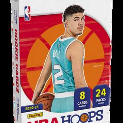 2020-21 Panini NBA Hoops Hobby Box $550.00