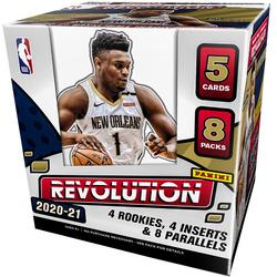 2020-21 Panini Revolution Hobby Box $450.00