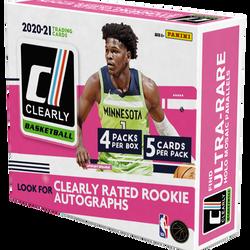 2020-21 Panini Clearly Donruss Hobby Box $234.95