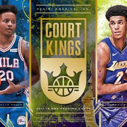 2017/18 Panini COURT KINGS Hobby Box $119.95