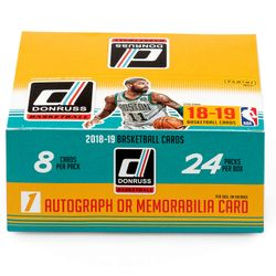 2018/19 Panini DONRUSS 24-Pack Retail Box $74.95