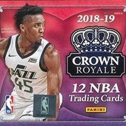 2018/19 Panini Crown Royale Hobby Box $164.95