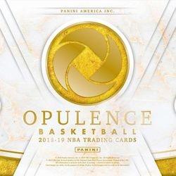 2018-19 Panini Opulence Hobby Box $1495.00