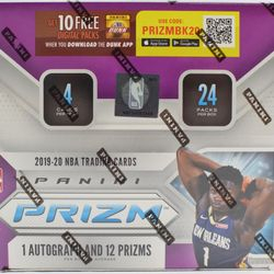 2019-20 Panini PRIZM 24-Pack Retail Box $1085.00