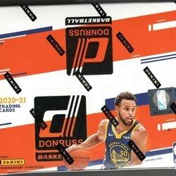 2020-21 Panini DONRUSS 24-Pack Retail Box $250.00