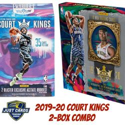 2019-20 Panini Court Kings Blaster & Hobby COMBO $625.00