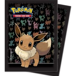 Eevee - Ultra Pro Deck Protector Sleeves 65ct Pack $5.