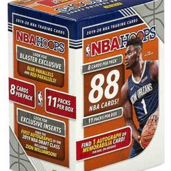 2019-20 Panini NBA Hoops 11-Pack Blaster Box $34.95