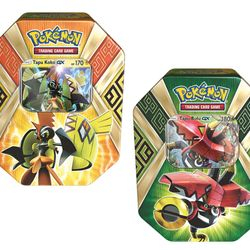 Pokemon Island Tins