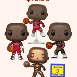 MJ Jordan POP Vinyls