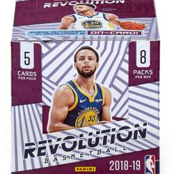 NEW! 2018/19 Panini Revolution Hobby Box $120.00