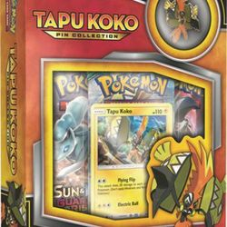 Tapu Koko Pin Collection Box $12.50