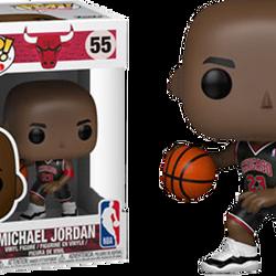 Michael Jordan Chicago Bulls Black Uniform Pop! Vinyl Figure $25