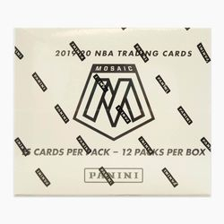 2019-20 Panini MOSAIC Multi Pack Box (12ct) $695.00