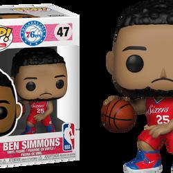 Ben Simmons Philadelphia 76ers Pop! Vinyl Figure $19