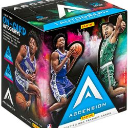 2017/18 Panini ASCENSION Hobby Box $110.00